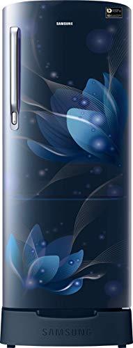 Samsung 192L 3 Star Direct-Cool Single Door Refrigerator (RR20T182YU8/HL, Saffron Blue)