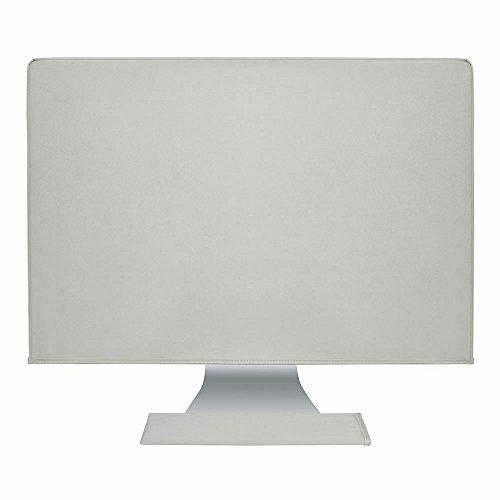 Hermitshell staub und wasserdicht beständige Abdeckung seidig glatte antistatisch mit weichem Samtfutter Schutz hülle Etui für Apple iMac Monitor und Tastatur Farbe: Grau Größe: 27