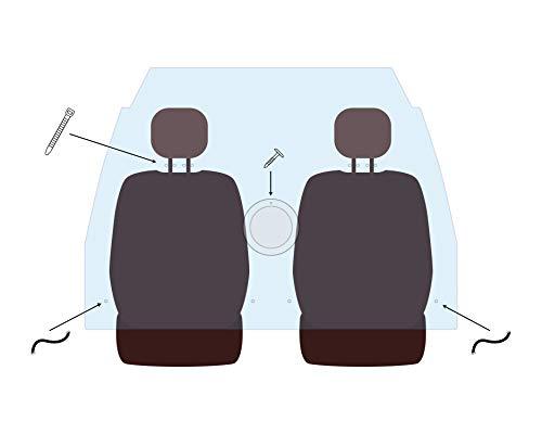 Mampara de metacrilato personalizada para el Modelo: Volkswagen Caddy