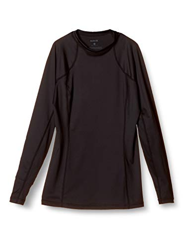 Hurley Damen Lycra W One und Only Rashguard L/S, Black, S, CJ7783