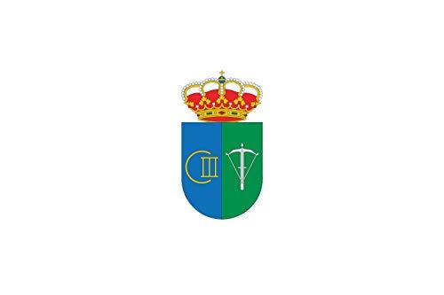 magFlags Bandera Large Oficial del Ayuntamiento de San Sebastián de los Ballesteros | Bandera Paisaje | 1.35m² | 90x150cm