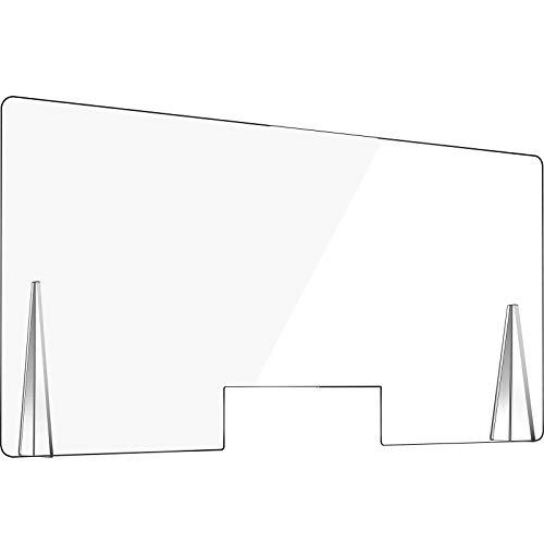 VEVOR Barriera Parafiato in Plexiglass 5mm