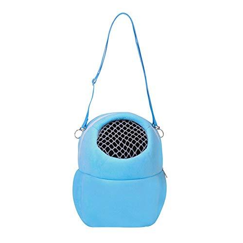 Vektenxi Kleine Haustier Hamster Carrier Pure Color Leine Reisetasche Mesh Design Hohe Qualität