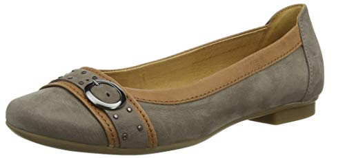 Gabor Shoes Damen Casual Geschlossene Ballerinas, Braun (Wallaby/Cognac 13), 37.5 EU