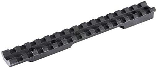 EGW Picatinny Rail Scope Mount, Black, Remington 700 Short Action, 0 MOA