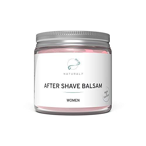 NATURAL7 After Shave Balsam Women | 200ml Frauen-Balsam | Die effektivste Methode gegen Rötungen...