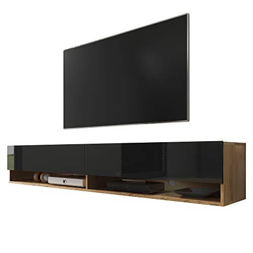 Selsey Wander - Mueble TV Suspendido/Mesa TV/Mueble para Salón (180 cm, sin...