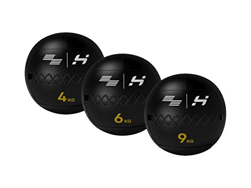 HOLD Strong Elite Wall Ball – Gewicht 4, 6 und 9 kg – Official HYROX Competition Wall-Balls (4 kg)