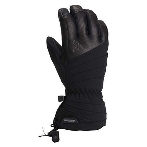 Gordini Women's Standard Gore-Tex Storm Trooper Glove, Black, Medium