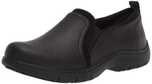 Dr. Scholl's Shoes Women's Just Start Slip-Resistant Slip On, Black, 9.5 Wide