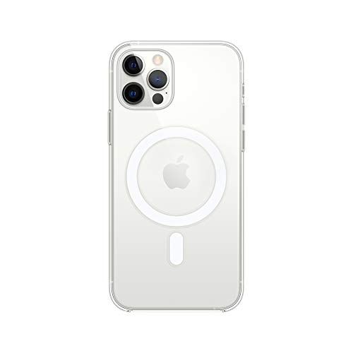 Apple Coque Transparente (pour iPhone12, 12Pro)