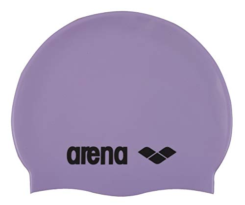 Arena Schwimmhaube aus Silikon, klassisch, Classic Silicone, Parma/Black