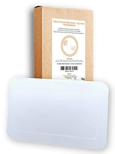 Nefeli Soaps - Glycerinseife Rohseife Seifenbasis - SLES Free Transparent