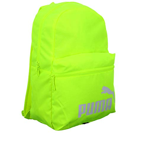 PUMA Phase Backpack, Zaino Unisex Adulto, Giallo (Fizzy Yellow), Taglia unica