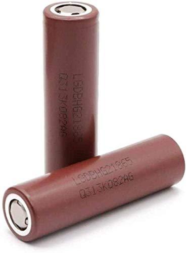 2pcs18650 3000mAh batería 18650 batería 3 6V 20A Descarga para batería de Linterna LED