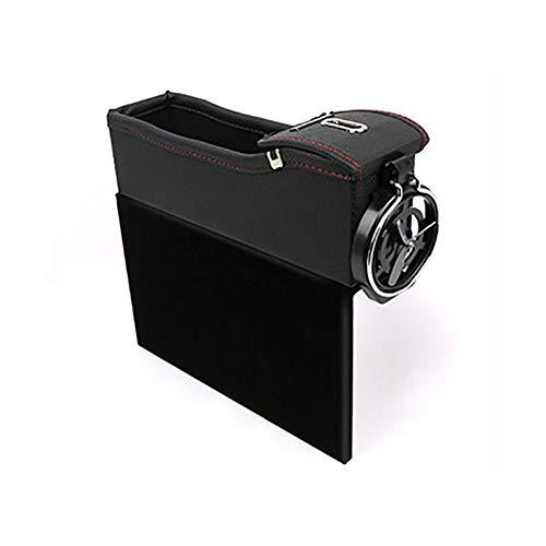 Bilstol spricka förvaringsbox kopp organiserare dryckhållare auto lucka ficka spara beställning telefon dyna kort handväska tillbehör