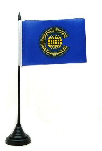 Tischflagge Commonwealth Flagge Fahne 10 x 15 cm FLAGGENMAE® Tischfahne