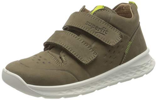 Superfit Breeze Sneaker, GRÜN/HELLGRÜN, 26 EU