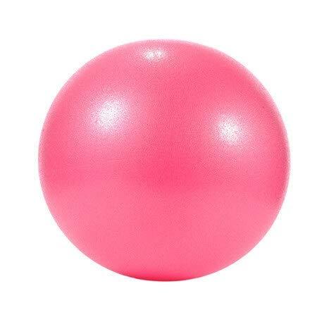 Pilates Gymnastik Yoga Fitness-Ball, Balance Gymnastik Stabilität Trainingsball (Color : Pink)