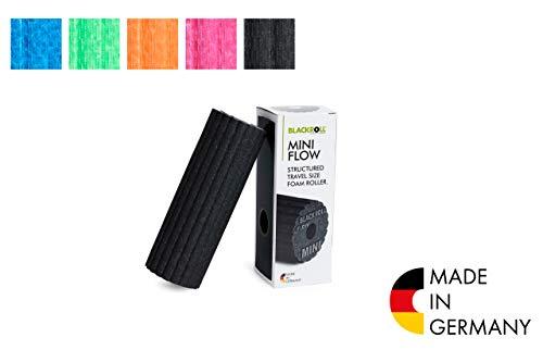 BLACKROLL  Faszienrolle Mini Flow, schwarz, One Size, AMBMFLBK