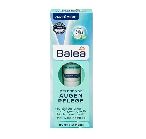 Augencreme Belebend | Mit Aloe Vera und Hydro-Komplex | spendet der sensiblen Haut um Ihre Augen intensiv Feuchtigkeit und pflegt sie sanft | 15 ml