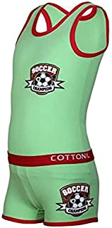 Cottonil Turbo Underwear Set For Boys - Green