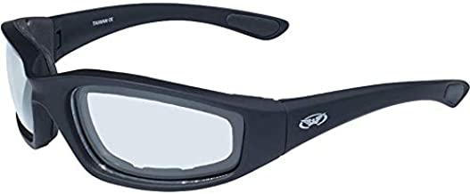 Kickback PHOTOCHROMIC - Light Adjusting Lenses - EVA Foam Padded Motorcycle Sunglasses