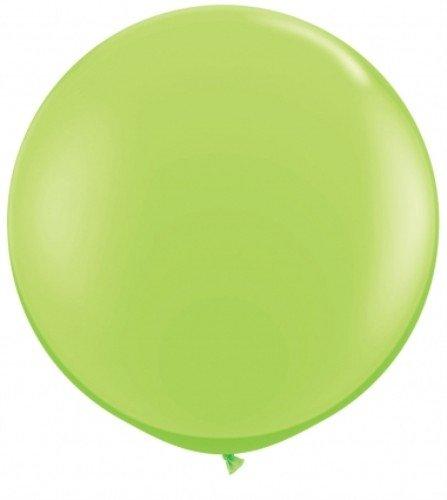 43660Q - 3Ft Latexballons Fsh Limone Gr�¼n /1