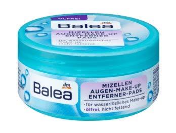 Augen-Make-Up Entferner-Pads Mizellen ölfrei Für wasserlösliches Make-up - Ölfrei - Nicht fettend - 50 Pads