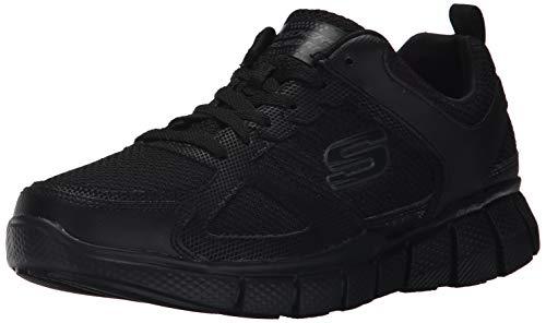 Skechers Sport Men's Equalizer 2.0 True Balance Sneaker,All Black,8.5 M US