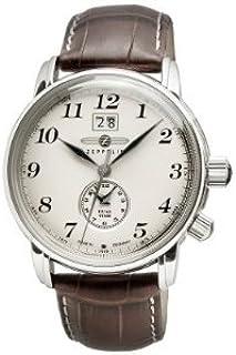 ツェッペリン ZEPPELIN 腕時計 7644-5 LZ127 グラーフツェッペリン クォーツ 42mm レザーベルト [並行輸入品]