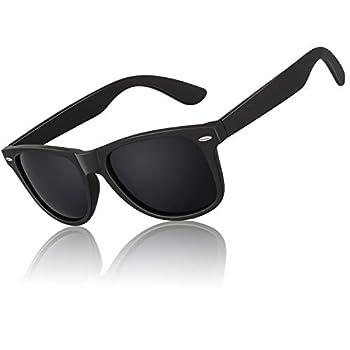 Polarized Sunglasses for Men Driving Sun glasses Shades 80 s Retro Style Brand Design Square