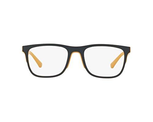 Emporio Armani 0EA3133 Monturas de Gafas, Matte Yellow, 55 para Hombre