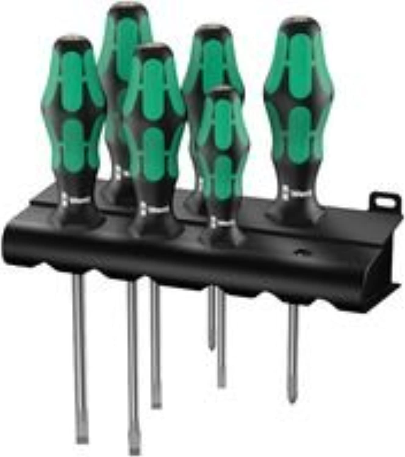 SCREWDRIVER SET, SLOTTED POZI, 6PC 105656 105656 105656 By WERA B011870X78 | Offizielle