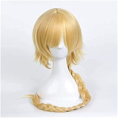 HTDYLHH Belles perruques, Anime Cosplay Pelucas McOSer Fataapocrypha Fate Go Jeanne d'Arc Braida Cosplay Wig pour UNE utilisation quotidienne Cosplay Party