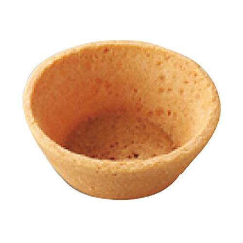 【業務用】 リボン食品 クッキー タルト フラット 中 M CT-2F 168個 焼成済業務用クッキー生地タルト