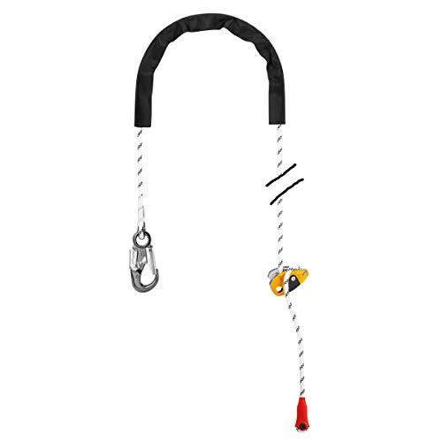 PETZL Unisex– Erwachsene Grillon Hook Internationale Version Zubehör Für Klettern, Weiß Gelb, Uni