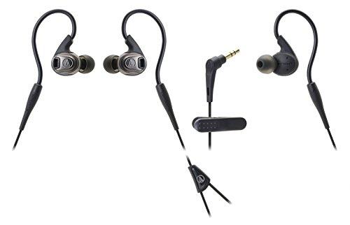 audio-technica SONICSPORT カナル型イヤホン 防水仕様 スポーツ向け ブラック ATH-SPORT3 BK