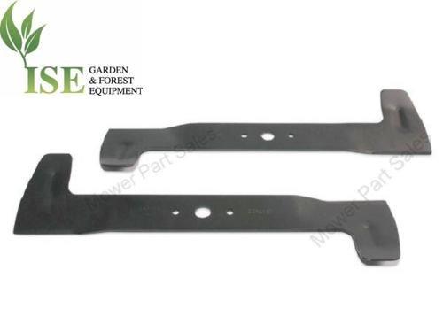 Ise® Set von Ersatz-Rechte und linke Hand Klingen für Castel Garden xdc140hd ersetzt Teilenummern 182004358/0und 182004359/0