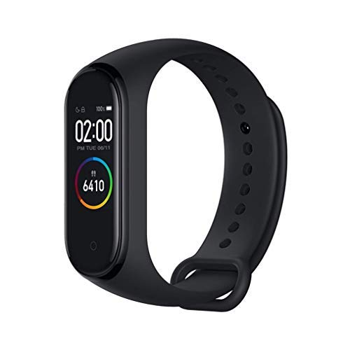 """Xiaomi Mi Band 4 Fitness Tracker, Newest 0.95"""" Color AMOLED Display..."""