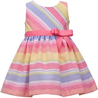 Bonnie Jean Easter Dress Spring Striped Dress for Baby Toddler and Little Girls 5 product image