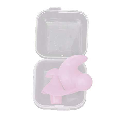 WEIHAN 1 paio di tappi per le orecchie da nuoto in silicone professionali impermeabili in silicone. Tappi auricolari anti-rumore per adulti nuotatori
