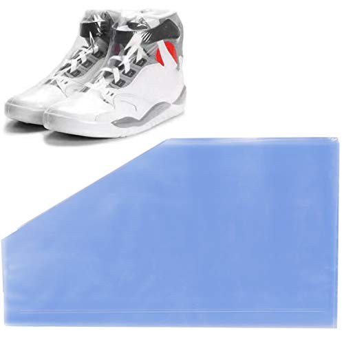 Shoe Shrink Wrap Bags,50Pcs Sneaker Shrink Wrap Bags Large Shoes Protector for Men Women Effectively Avoid Yellowing and Keep Dust Away 10x17inches