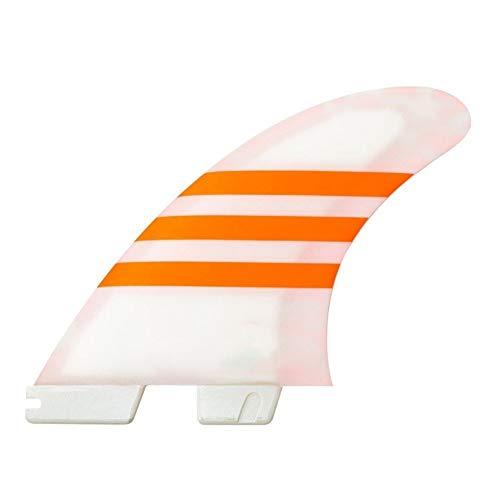 YEZIB Surf & Sup Fin, Surf Fin II AirCore Aletas para Longboard, Tabla de Surf y Paddleboard. (Color : O, Size : M)
