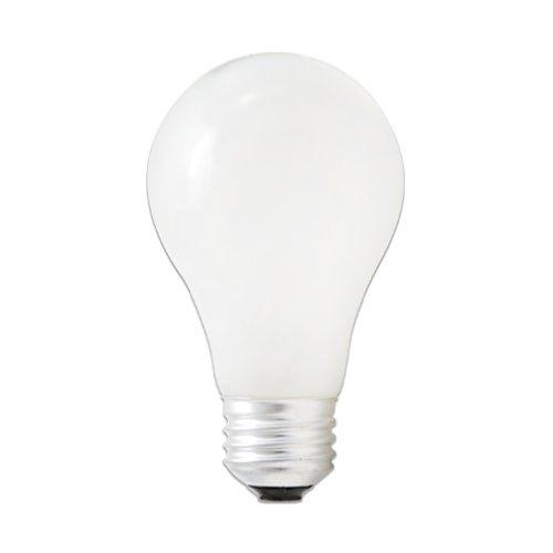 Bulbrite 53A19SW/ECO Eco-Friendly Halogen 53W A19, Soft White, 2-Pack