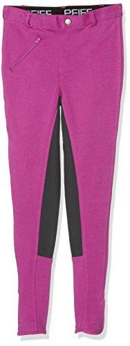 Pfiff 101197 Kinder Reithose Vollbesatz Vollbesatzreithose Pink / Grau, 158