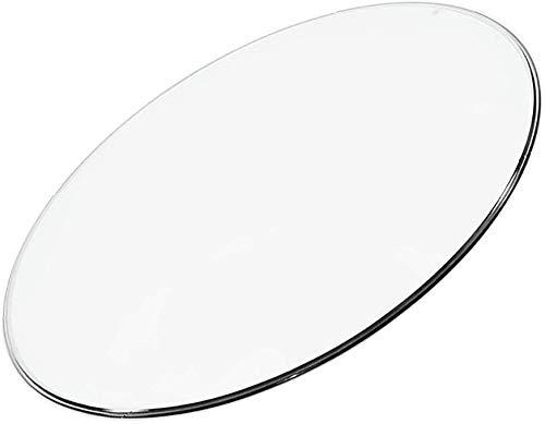 PLEASUR Runde gehärtetes Glas tischplatte transparent ohne aluminiumlegierung Basis Home Hotel DIY esstisch couchtisch Durchmesser 28-98 cm können ausgewählt Werden
