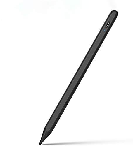 Jelly Comb Stylus Pen für iPad Pro 11(2.und 3. Gen)/iPad Pro 12,9(3. und 4. Gen)/iPad 10,2 2019/iPad 9,7 2018/iPad Air 3/iPad Mini, Aktiver Kapazitiver Eingabestift 3. Gen mit Palm Rejection, Schwarz