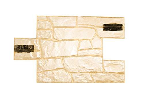 Dekorative beton zement stempel Granitsteine form impressum (Granit N1)