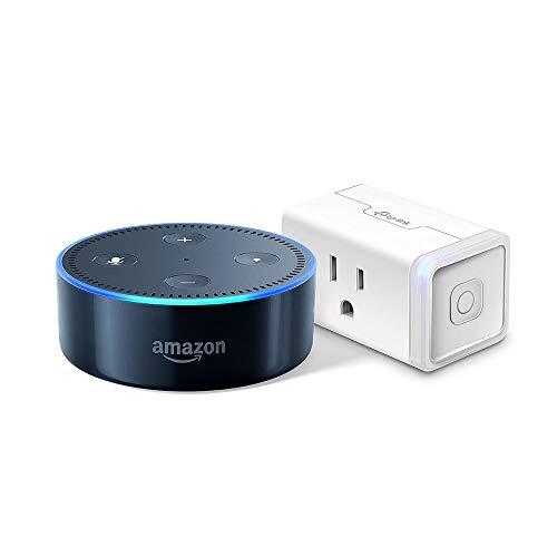 Echo Dot (2nd Generation) - Black + TP-Link Smart Plug Mini